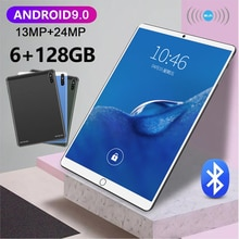 Ready Stock Android Tablet PC Android 9 10 inch tablet 6GB RAM 128GB ROM tablet Android 5G tablete N
