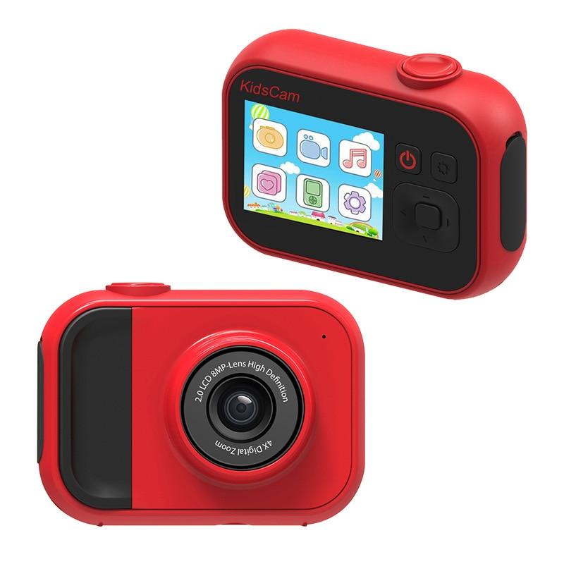 Новинка 2020, детская камера, портативная мини-головоломка для фотосъемки, видеокамера высокой четкости, цветная игра для маленьких мальчико...
