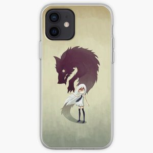 Werewolf  Phone Case for iPhone X XS XR Max 5 5S SE 6 6S 7 8 Plus 11 12 13 Pro Max Mini Flower TPU Silicon Soft Dog Accessories