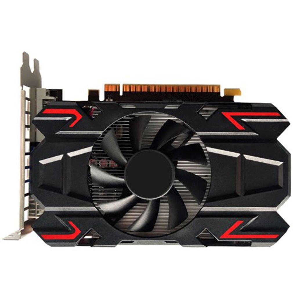 بطاقة جرافيكس HD6770 4G DDR5 عالية الوضوح كمبيوتر مكتبي بطاقة جرافيكس لعبة ببطاقات ورقية منفصلة بطاقة جرافيكس
