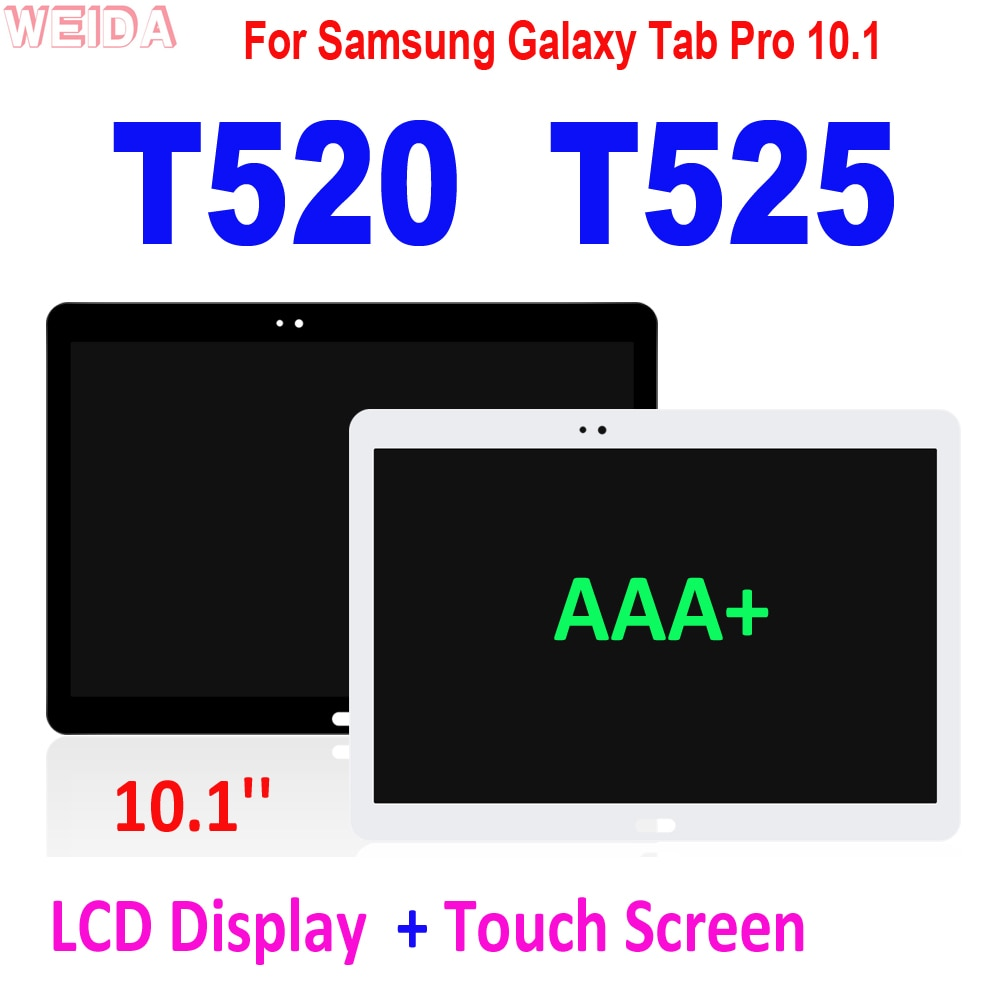 11 0 lcd for samsung galaxy tab s7 t870 lcd display touch screen digitizer assembly for samsung sm t870 t875 t876b lcd screen 10.1'' LCD For Samsung Galaxy Tab Pro 10.1 T520 T525 LCD Display Touch Screen Digitizer Assembly for SM-T520 SM-T525 LCD Screen