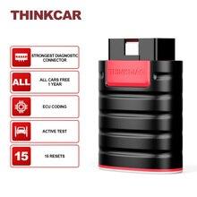THINKCAR ThinkDiag для всех автомобилей, бесплатные обновления, диагностические инструменты, программатор, Bluetooth ридер, Obd2, Автомобильный сканер, 15 сбросов, кодирование ЭБУ