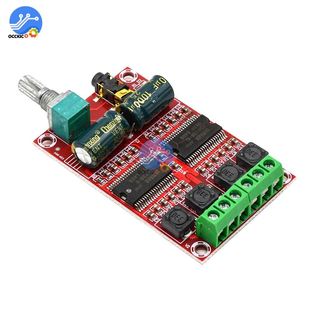 Placa amplificadora YDA138-E Clase D 20Wx2, DC12-15V, Audio, estéreo, HIFI, doble canal,...