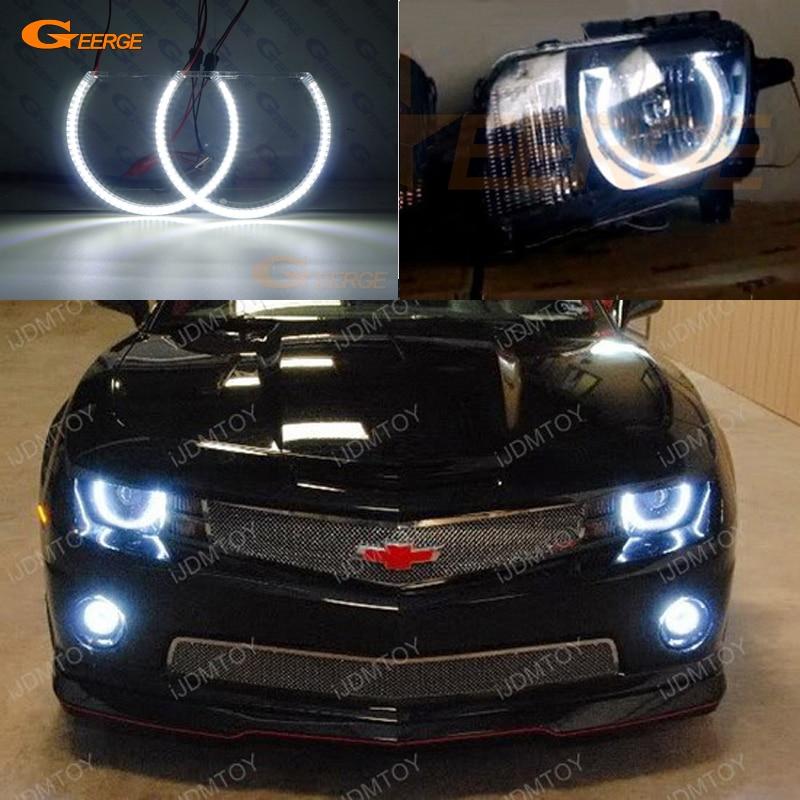 Para Chevrolet Chevy Camaro 2009, 2010, 2011, 2012, 2013, excelente smd kit de luces led Ojos de Ángel DRL Ultra brillante