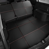 Waterproof Boot +Back Seat Carpets Durable Custom Special Car Trunk Mats for Volkswagen EOS UP Polo Sharan C-TREK Touareg