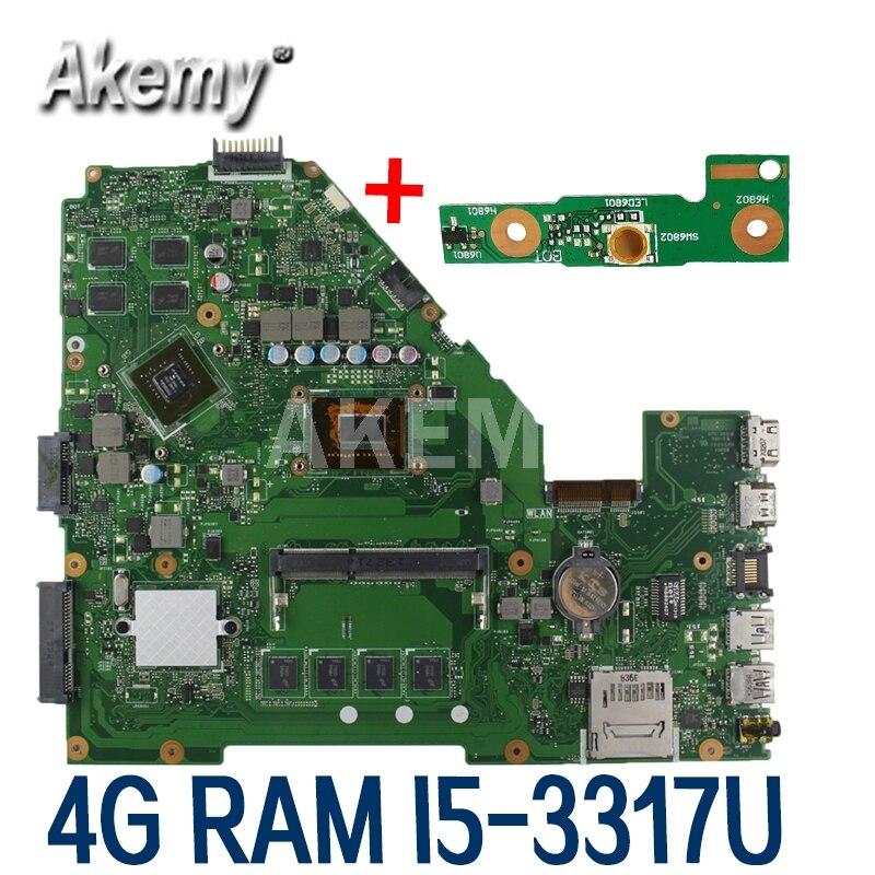 Akemy I5-3317U GT720M X550CC X552C laptop Motherboard Mainboard Motherboard Para Asus X550C X550CL X550CC X550CC Motherboard