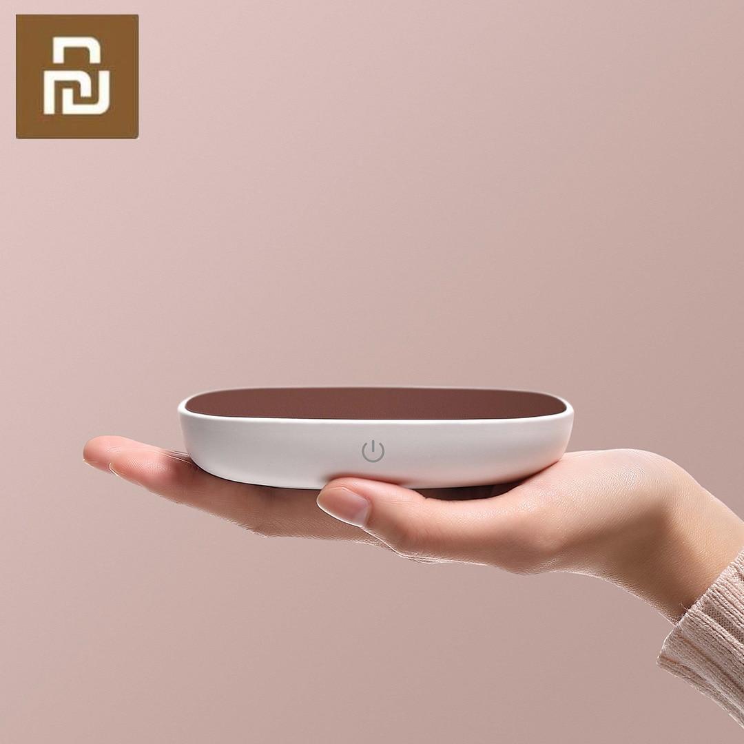 Posavasos de aislamiento Xiaomi Youpin Xiaobai, temperatura constante de 55 grados, calefacción DC 12V PI para taza de Metal de vidrio de porcelana