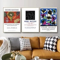 modern home decor picture matisse abstract poster nordic wall art canvas painting for living room dining room gallery decor