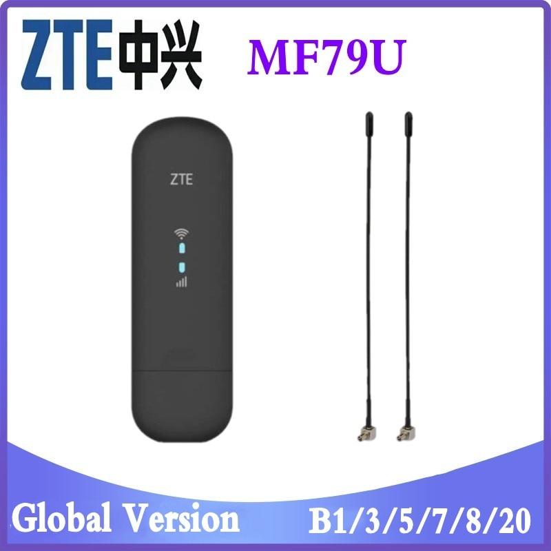 Разблокированный ZTE MF79 4G150M LTE USB Wingle LTE 4G USB WiFi модем dongle автомобильный wifi PK Huawei E8372h-153 E8372h-608 оптовая продажа 25 шт разблокированный usb модем huawei e3372s 153 4g lte
