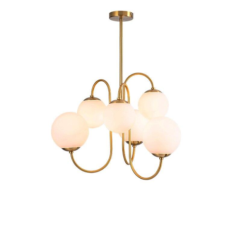 مصباح معلق E27 LED من الزجاج الأبيض ، تصميم حديث ، إضاءة داخلية مزخرفة ، مثالي لغرفة الطعام أو البار أو المطعم أو غرفة النوم.