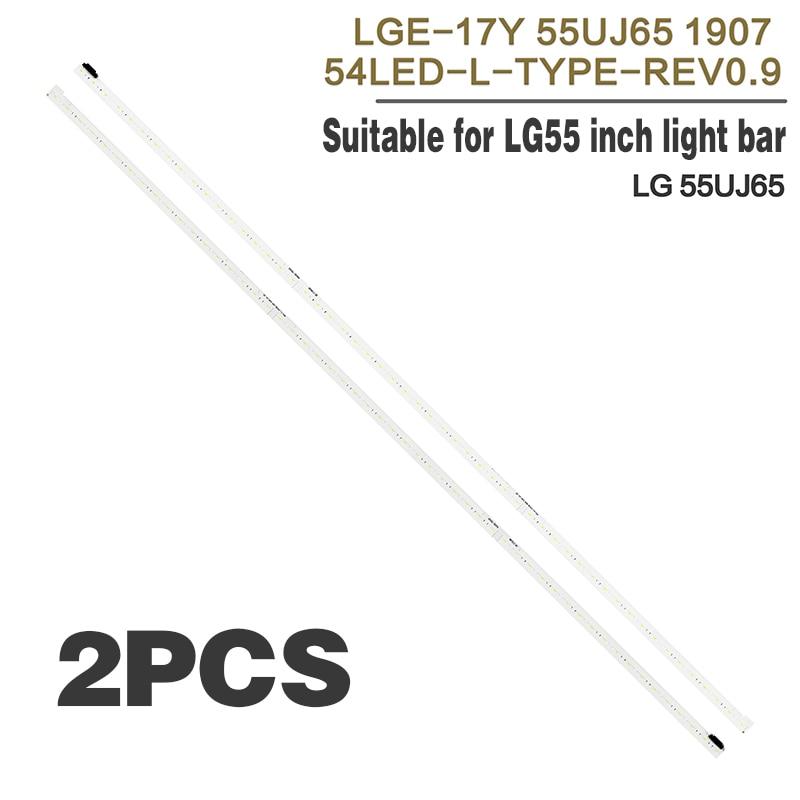 LED شريط إضاءة خلفي 54 LED ل LG 55