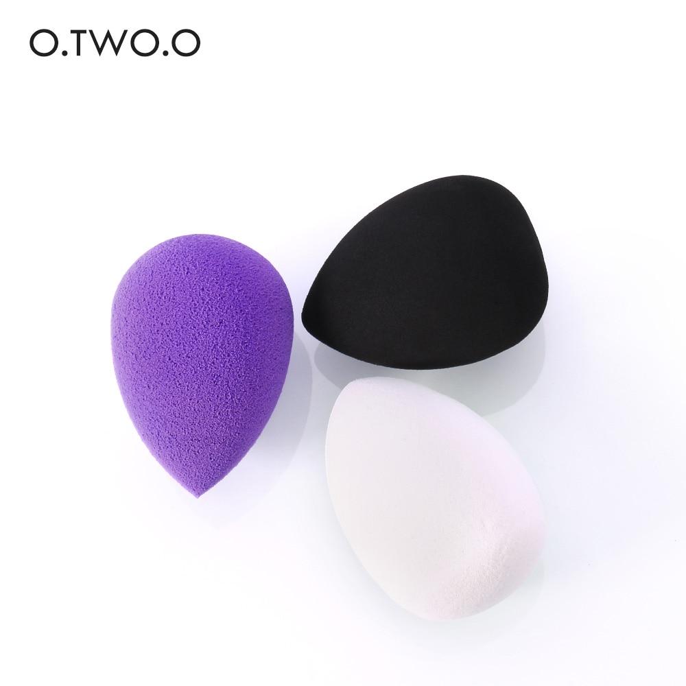O.TWO.O New Makeup Sponge Foundation Cosmetic Puff Sponge Water Cosmetic Blending Powder Smooth Make Up Sponge недорого