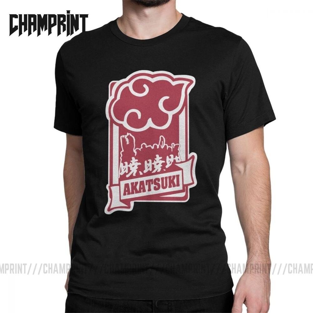 ANBU Naruto Uchiha Itachi Sasuke Akatsuki Pein camisetas para hombres novedad 100% de algodón camisetas de manga corta 6XL ropa