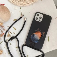 frederik the great beauty horse phone case for iphone 7 8 11 12 x xs xr mini pro max plus strap cord chain lanyard soft
