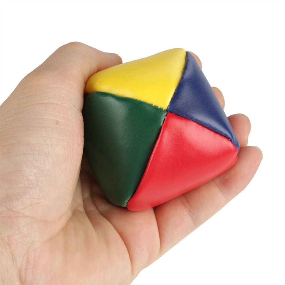 3 uds. Nuevo Mini juego de bolas de malabares clásico bolsa de frijoles bolas de almohada suave juguete de alivio de la tensión para principiantes niños juguetes ируши