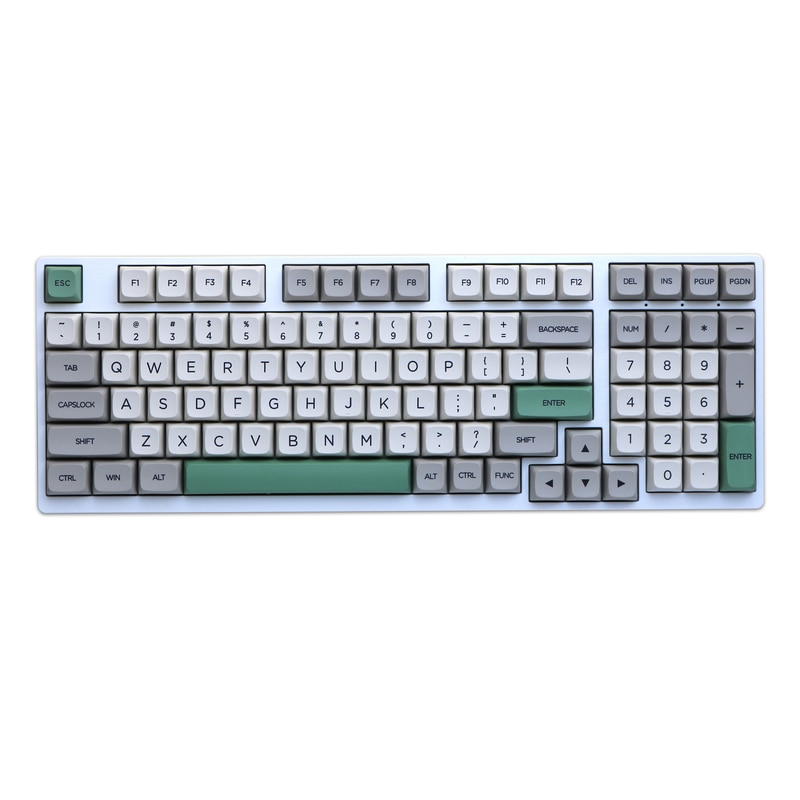 XDA Keycap 134 مفتاح قبعة كروية نمط الرجعية الحرارية التسامي Keycap مجموعة 1.5 مللي متر سمك PBT الميكانيكية لوحة المفاتيح Keycap