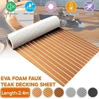 self adhesive foam teak decking eva foam marine flooring faux boat decking sheet accessories marine 600x2400x5mm