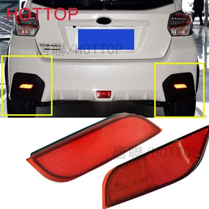 For Subaru /Impreza/XV/WRX/LEVORG/Crossover/Exiga  LED Rear Bumper Reflector Tail Brake Stop Driving Turning Light 1/SET