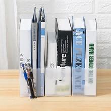 2/3/5Pcs Plastic File Holder Magazine Book Rack Document Tray Table Storage File Organizer Office Supplies Stationery Box