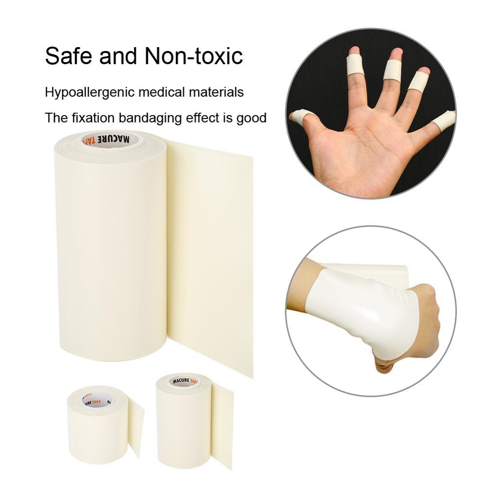 5/10cm * 3m Microfoam Espuma adhesiva cinta impermeable de primeros auxilios ajuste vendaje cohesivo deportivo Underwrap cintas médicas elásticas fijas