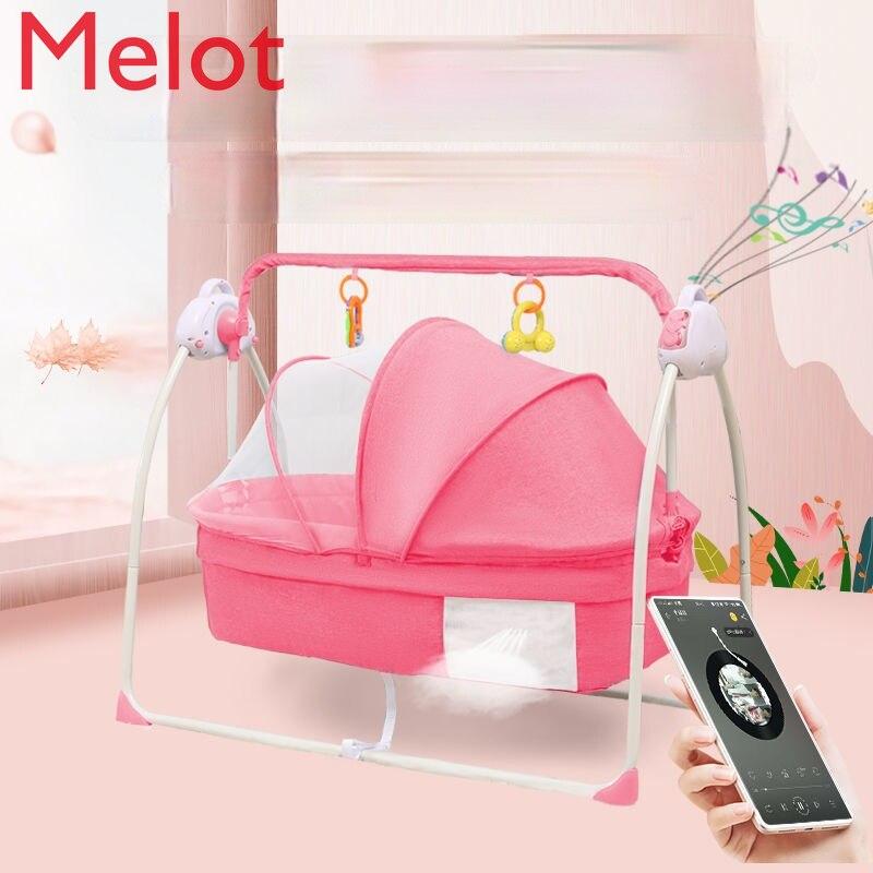 اقناع كرسي متأرجح الطفل الكهربائية السرير مهد طفل المعزي الكهربائية شاكر