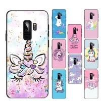 unicorn cartoon funny horse phone case for samsung galaxy s20lite s21 s21ultra s20 s20plus for samsungs21plus 20ultra capa