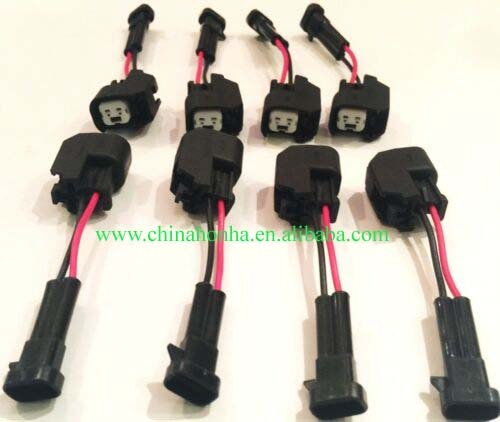 LQ4 LQ9 4.8 5.3 6.0  wire harness into LS2 LS3 LS7 EV6 Injector connectors