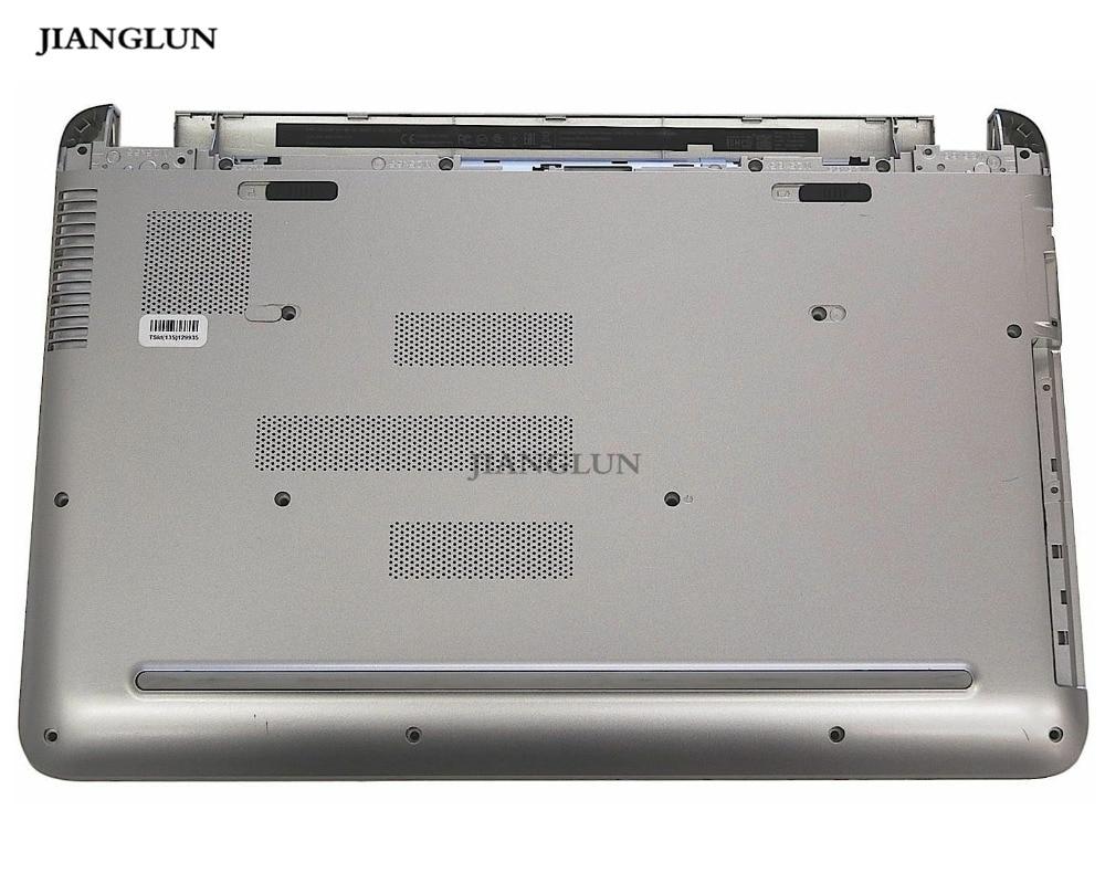 JIANGLUN portátil cubierta inferior para HP Pavilion 15-AB de plata de 809021-001