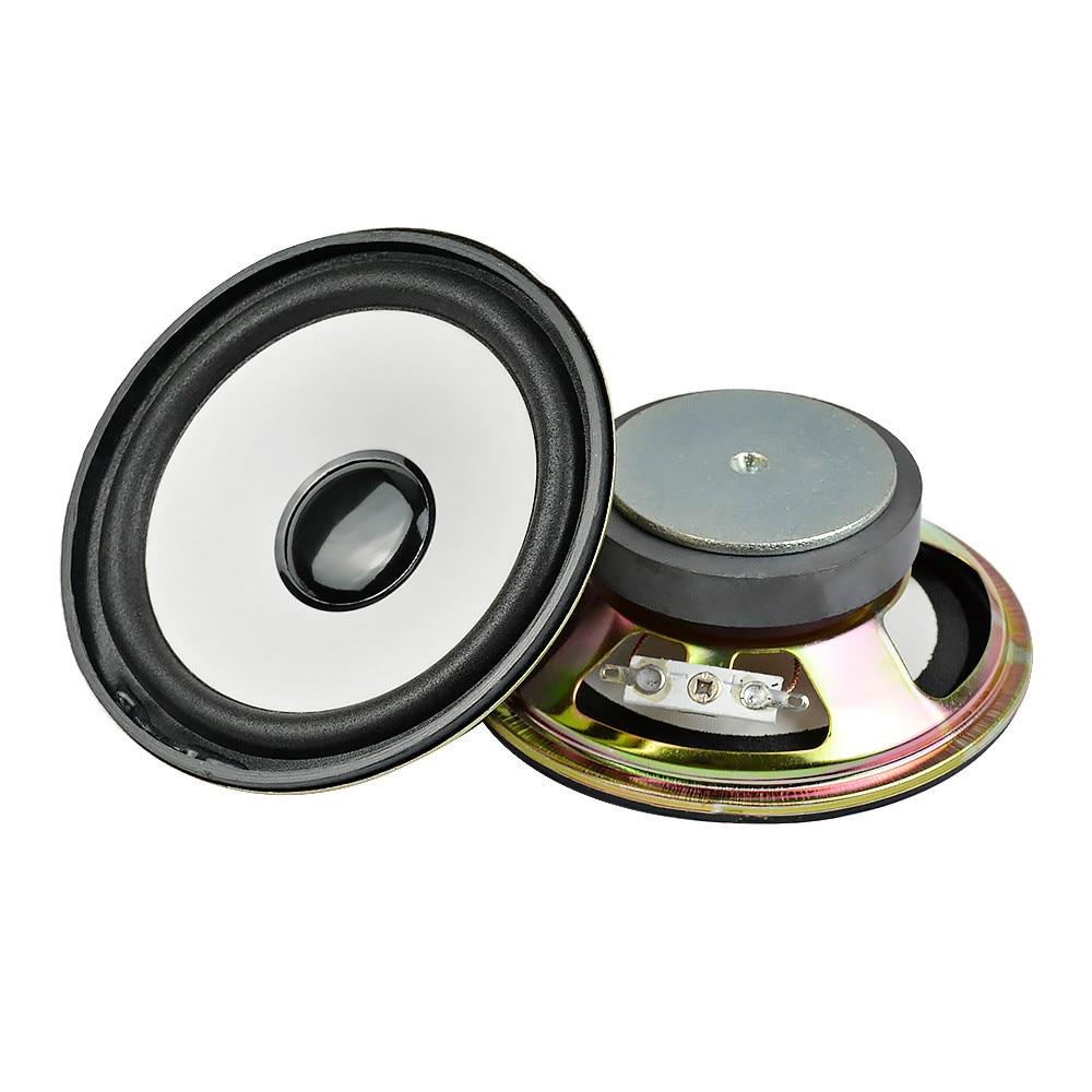 AIYIMA 2 uds 4 pulgadas Altavoz 2 Ohm 5W Woofer estéreo Altavoz bajos de Audio Altavoz Bluetooth DIY