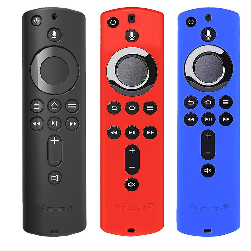 Hot Silicone Soft Shockproof Case For Fire TV Stick Voice Remote Controller Shockproof Case Cover