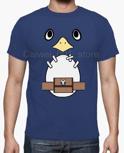 100% Cotton Printed T shirt crew neck short sleeve casual BE A PRINNY DOOD MENS Hot men's fun casual print T shirt
