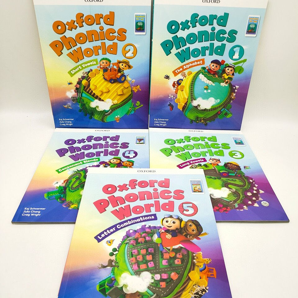 10books oxford phonics world storybook Children Learning English Case Early Learning Books Workbook English Workbook Libros i m ready for phonics workbook 1