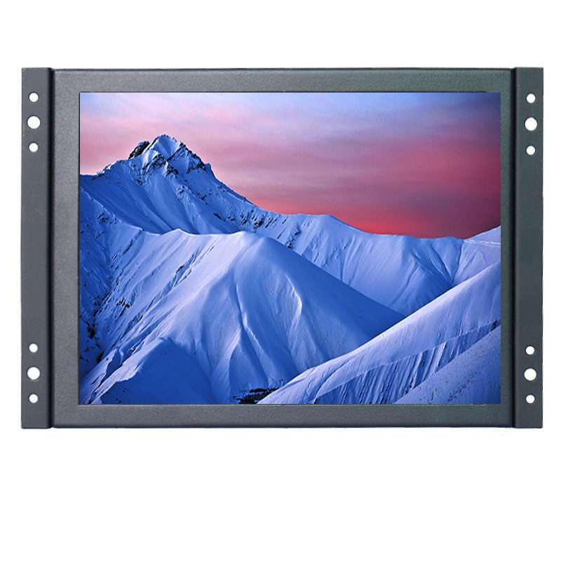 ZHIXIANDA-شاشة LCD تعمل باللمس مقاس 10 بوصات بإطار مفتوح صناعي