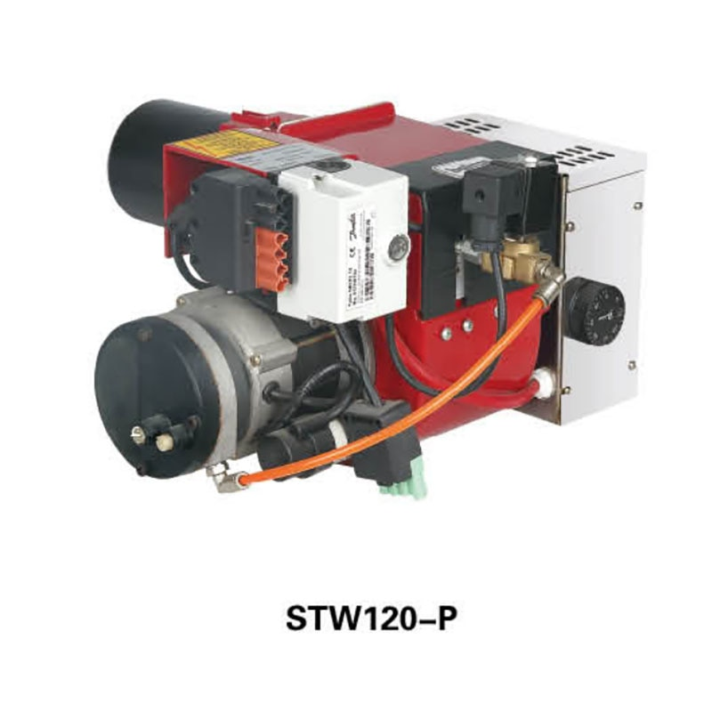 Waste oil burner STW120-P different with kingwei