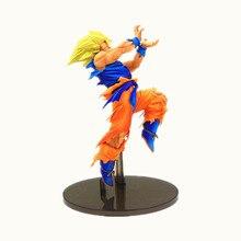 Nouveau 21cm Dragon Ball Super Saiyan fils Goku Kakarotto choc Action Figurine jouets poupée Dragon Ball Z Figurine modèle à collectionner