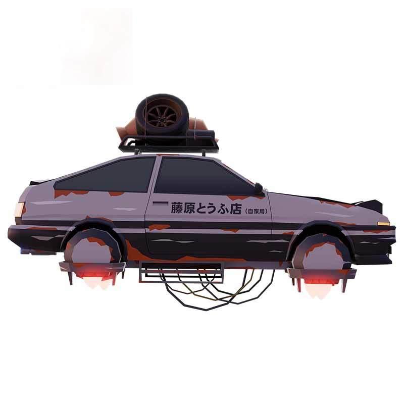 Индивидуальные Оригинальные D Fujiwara автомобильные наклейки на холодильник, автомобильные наклейки, виниловые автомобильные наклейки на лоб...
