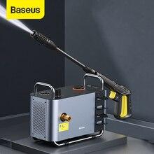 Baseus 1300 Вт высокой мощности Давление Автомобильная моечная машина автоматический старт стоп интеллигентая (ый) Отрегулируйте Давление домашний водяной насос, мини мойка для машины!