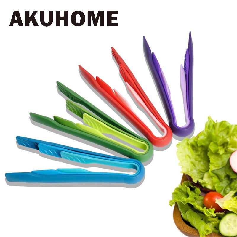 Juego de 3 uds en uno de pinzas, utensilios de cocina, pinzas de nailon para alimentos, pinzas para hornear, pinzas para barbacoa, herramientas para barbacoa, pinzas para verduras