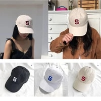 2021 new s letter embroidered baseball cap for men women cotton caps hip hop snapback golf hat fashion dad gorra