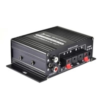 12v mini car amplifier hifi 2 channel high bass stereo audio amplifier for car auto motorcycle home boat auto stereo amplifier