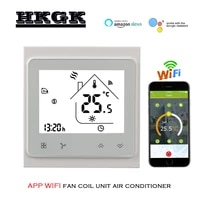 2p 4p coolingheating digital wireless wifi thermostat room temperature control for central air conditioning