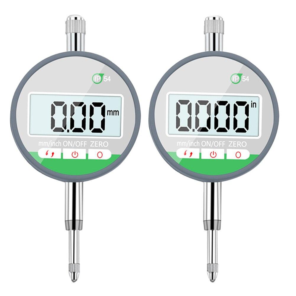 Indicador de Discagem Indicadores de Medição de Alta Ferramenta de Medição Medidor Digital Sonda Precisão 0.01mm Ip54 0-12.7mm
