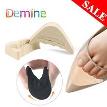 Femmes talon haut demi avant-pied insérer embout bouchon coussin soulagement de la douleur protecteur grandes chaussures orteil Anti-douleur avant remplissage ajustement