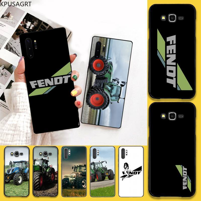 Fendt Tractor Power Car black Phone Case Hull For Samsung Galaxy Note20 ultra 7 8 9 10 Plus lite J7