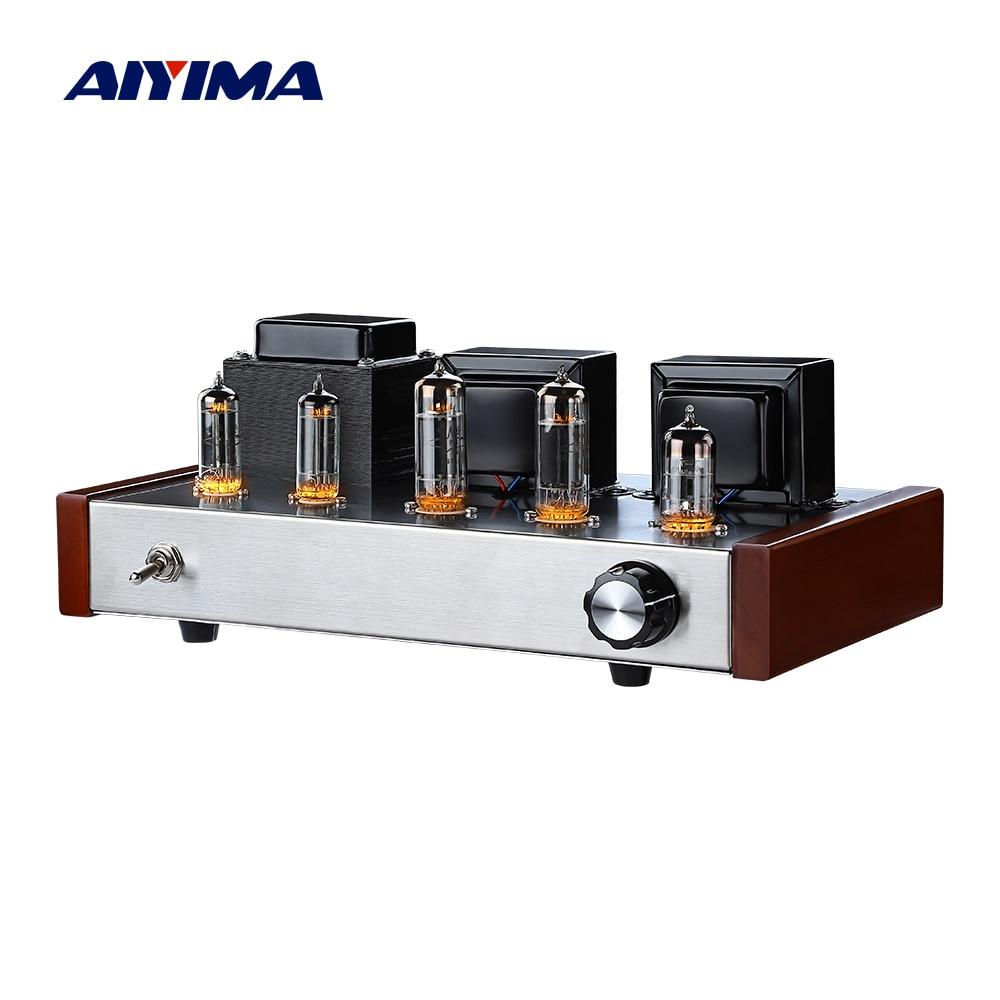 AIYIMA الصوت 6n2 6p1 أنبوب مكبر كهربائي المهنية فراغ أنبوب فئة أمبير Hifi ستيريو مكبرات صوت المسرح المنزلي لتقوم بها بنفسك