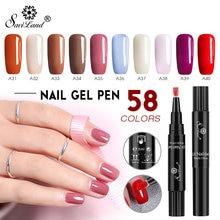 Saviland plus récent 58 couleurs Gel vernis à ongles stylo paillettes vernis à ongles hybride Dawdler UV Nail Art Gel laque Gel peinture