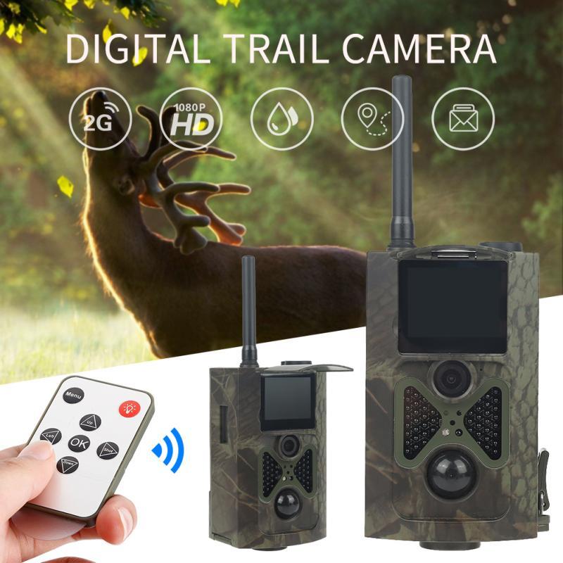 درب الصيد كاميرا البرية كاميرا المراقبة البرية ليلة الإصدار الحياة البرية الكشافة كاميرات صور الفخاخ المسار مقاوم للماء 12MP