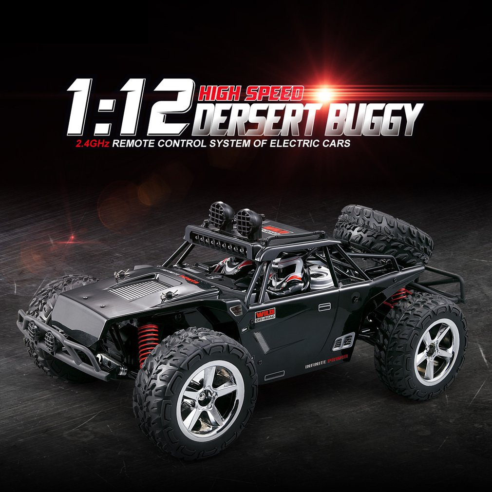 1:12 4WD RC Car Updated Version 2.4G Radio Control RC Cars Toys High Speed Racing Car With Standard Steering Gear Children Gift enlarge