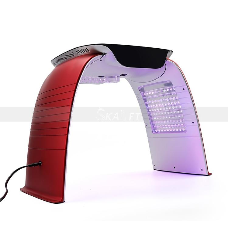 LED PDT الباردة رذاذ الساخن ضغط الانحلال الأشعة فوق البنفسجية قناع علاج ضوء لتجديد شباب البشرة حب الشباب