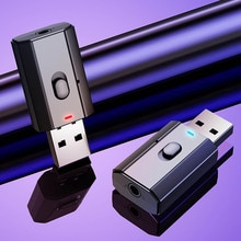 5.0 Bluetooth-compatible Adapter USB Wireless Transmitter Receiver Music Audio For PC TV Car Hands-f